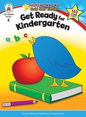 Carson-Dellosa Get Ready for Kindergarten Resource Book