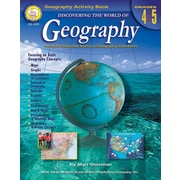 Mark Twain Discovering the World of Geography Resource Book, Grades 4 - 5