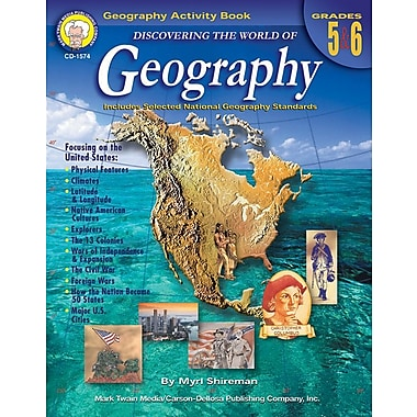 Discovering the World of Geography Resource Book, Grades 5 - 6