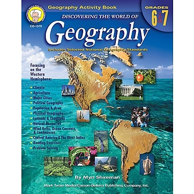 Mark Twain Discovering the World of Geography Resource Book, Grades 6 - 7