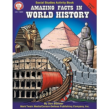 Mark Twain Amazing Facts in World History Resource Book