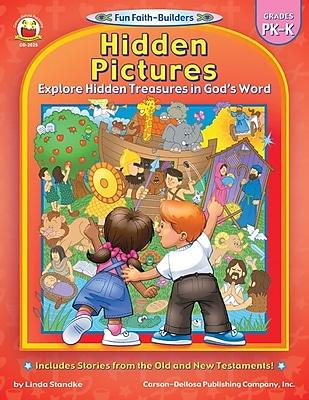 Carson-Dellosa Hidden Pictures Resource Book, Grades PK - K
