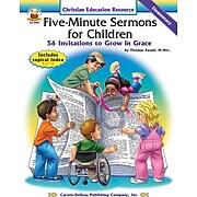 Carson-Dellosa Five-Minute Sermons for Children Resource Book
