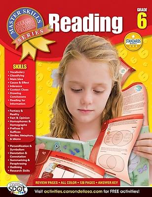 American Education Reading Workbook, Grade 6