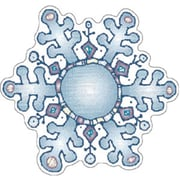 D.J. Inkers Snowflakes Cut-Outs