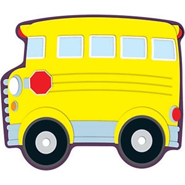 Carson-Dellosa School Bus Cut-Outs