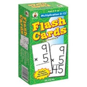 Carson-Dellosa Multiplication 0-12 Flash Cards