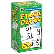Carson-Dellosa Multiplication 0-12 Flash Cards