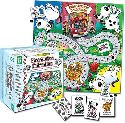 Key Education Fire Station Dalmatian Board Game