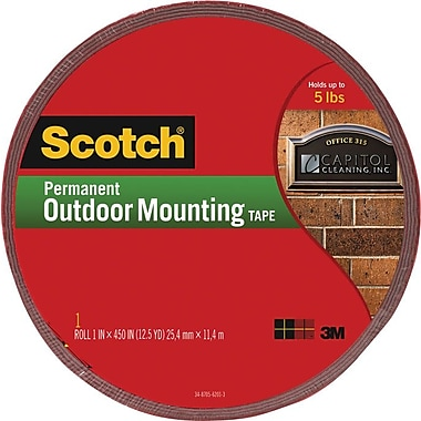 Scotch® Permanent Outdoor Mounting Tape 1