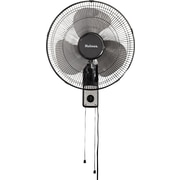 "Holmes® 16"" Wall Mount Fan, 19 2/3"" x 9 2/5"" x 16 9/10"", Black (HMF1611AUM)"
