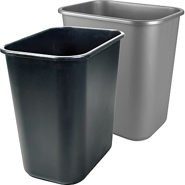 Staples® 26.6L Wastebaskets