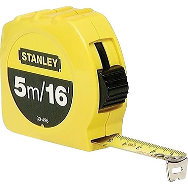 Stanley Tape Measure, 16' x 3/4