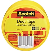 "Scotch® Duct Tape, 1.88"" x 20 yds., Yellow (920-BLK-C)"