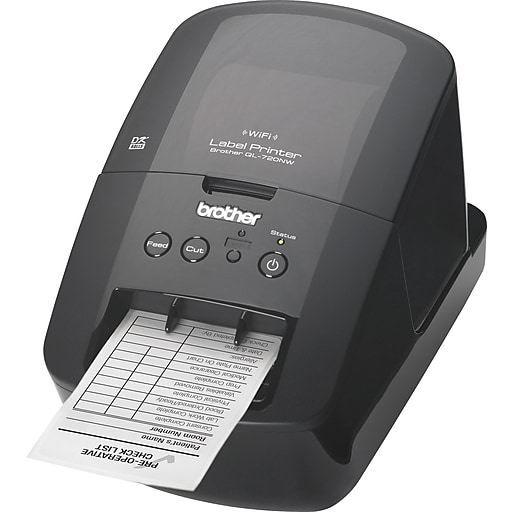 Brother® QL-720NW High-Speed Label Printer