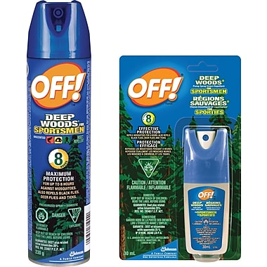 OFF!® Deep Woods Sportsmen Insect Repellent