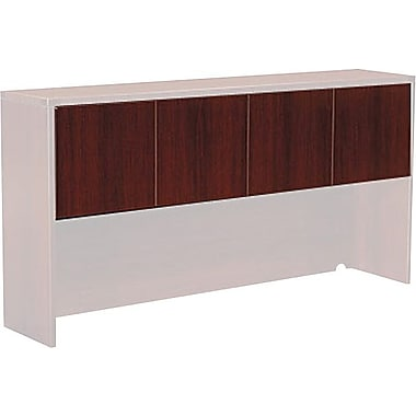 Office Star Napa Collection Credenza Hutch Doors, Mahogany