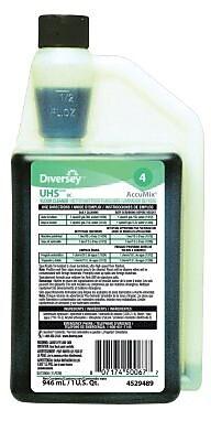 Diversey™ UHS™ Floor Care Floor Cleaner, Accumix, 32 Oz., 6/Ct