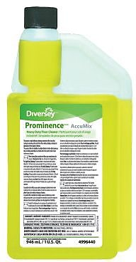 Diversey™ Prominence™ Floor Cleaner Heavy Duty Cleaner, 32 Oz., AccuMix®