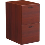 Office Star Napa Collection File/File Pedestal, Assembled, Mahogany