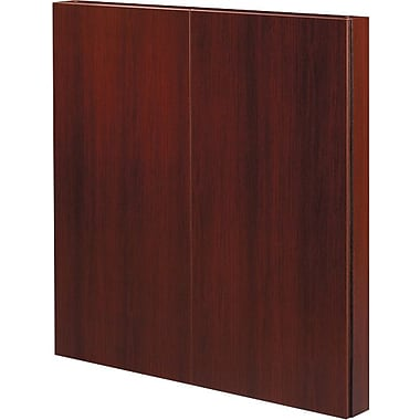 Office Star Napa Collection Presentation Board, Assembled, Mahogany