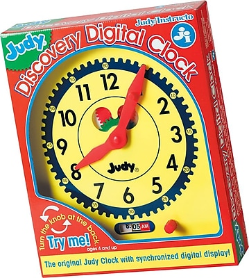 Judy Instructo Judy® Discovery Digital Clock (0768218624)