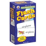 Carson-Dellosa Basic Picture Words Flash Cards