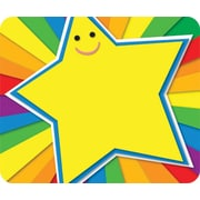 Carson-Dellosa Rainbow Star Name Tags