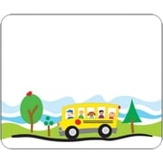 Carson-Dellosa School Bus Name Tags