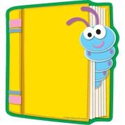 """Carson Dellosa Book Notepad 8"""" x 6"""", Blue/Yellow (151036)"""
