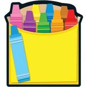 """Carson Dellosa Crayons Box Notepad 8"""" x 6"""", Yellow (151037)"""