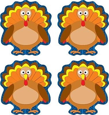 Carson-Dellosa Turkeys Shape Stickers