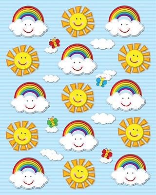Carson-Dellosa Suns & Rainbows Shape Stickers