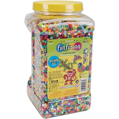 Perler Fun Fusion Beads, 22,000/Pkg, Multi Mix