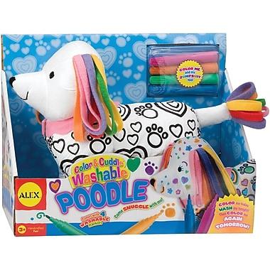 Alex Toys Color & Cuddle Washable Kit, Poodle