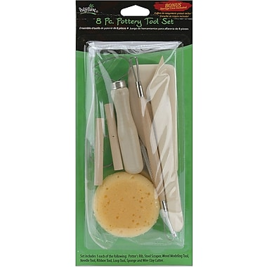 Polyform Pottery Tool Set, 8 Pieces