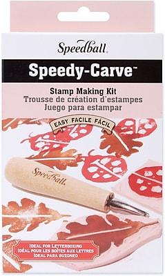 Speedball Art Products Speedball Speedy-Carve Stamp Making Kit