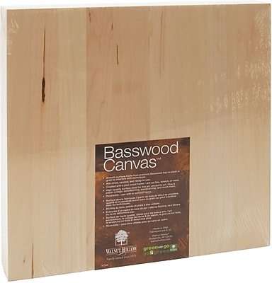 Walnut Hollow Basswood Canvas, 12