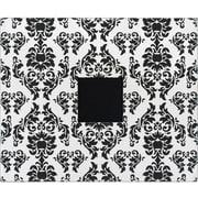"American Crafts Patterned 3-Ring Album, 12"" x 12"", Black & White Damask"