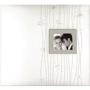 """K&Company Forever Yours Postbound Fabric Cover Album 12"""" x 12"""""""
