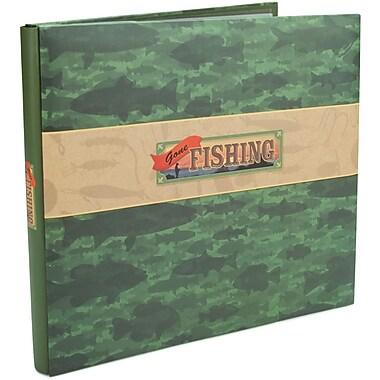 Karen Foster Gone Fishing Postbound Album 12