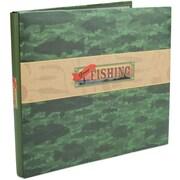 """Karen Foster Gone Fishing Postbound Album 12"""" x 12"""""""