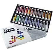 Reeves Liquitex Basics Acrylic Paint, 7ml/Tube 24/Pkg, Assorted Colors