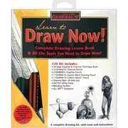 General Pencil Learn To Draw Now Kit