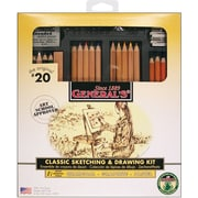 General Pencil Classic Sketching & Drawing Kit