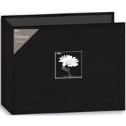 "Pioneer Fabric 3-Ring Binder Album With Window, 12"" x 12"", Black"