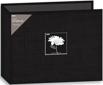 Pioneer Fabric 3-Ring Binder Album With Window, 12
