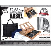 Royal Brush Easel Art Set With Easy To Store Bag, Sketching