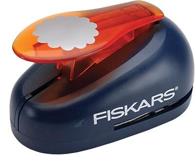 Fiskars X-Large Lever Punch, Scalloped Circle, 2