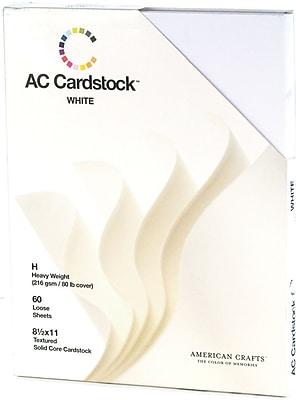 American Crafts Cardstock Pack, 8.5